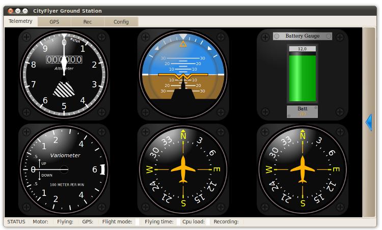ground station screenshot